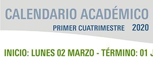 Calendario Académico Primer Cuatrimestre 2020